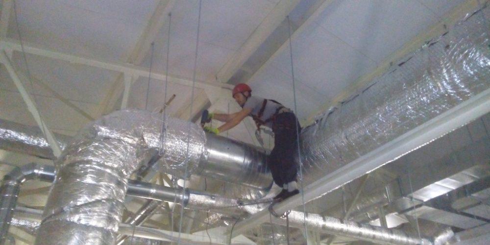 Ремонт вентиляционных каналов