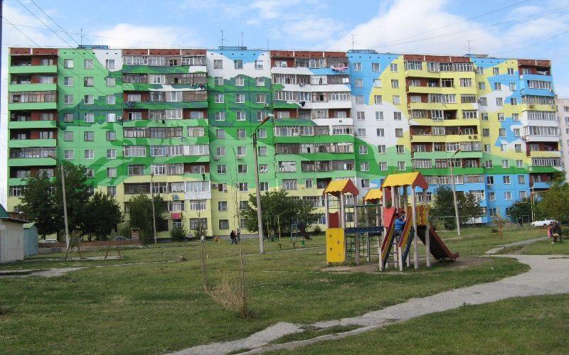 Покраска жилых домов Белгород
