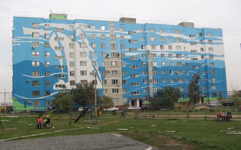 Покраска зданий Белгород