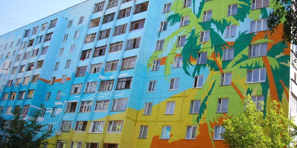 художественная покраска фасада Белгород