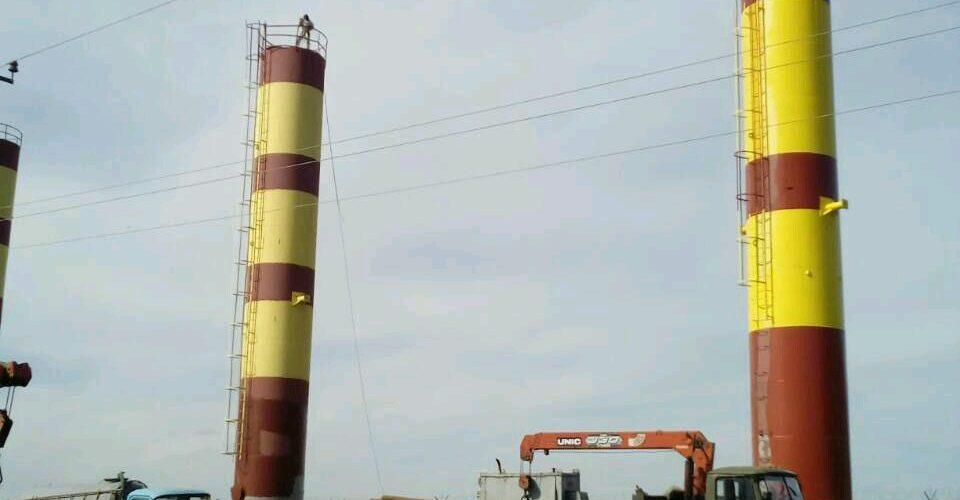 антикоррозийная обработка башни Белгород