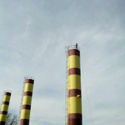 Покрасить водонапорную башню
