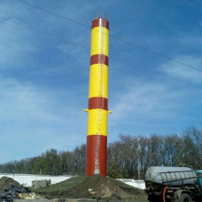 Покраска водонапорных башен