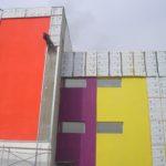 Установка фасада на высоте Белгород