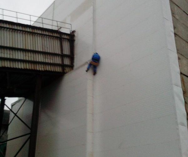 Монтаж бетонных панелей
