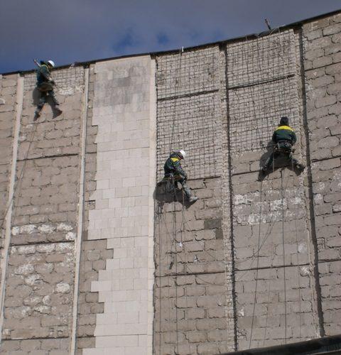 демонтаж фасадной плитки Белгород