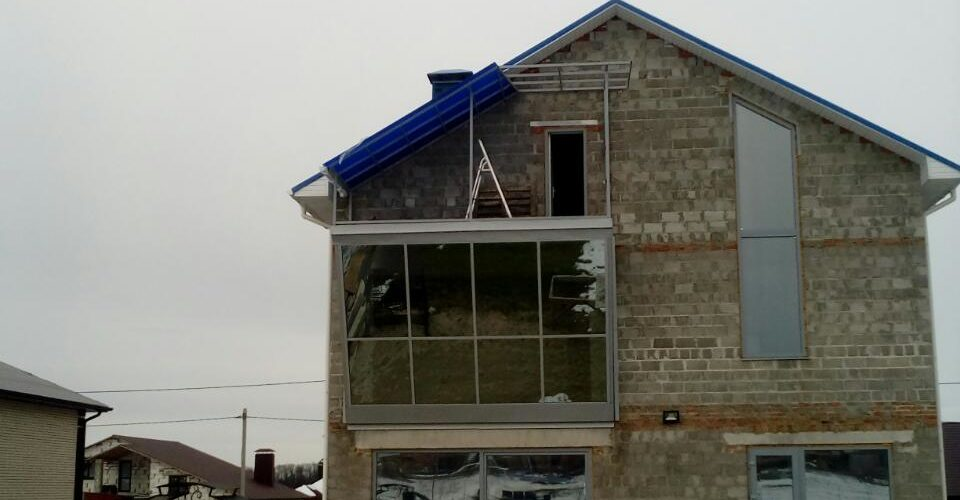 козырёк на балкон