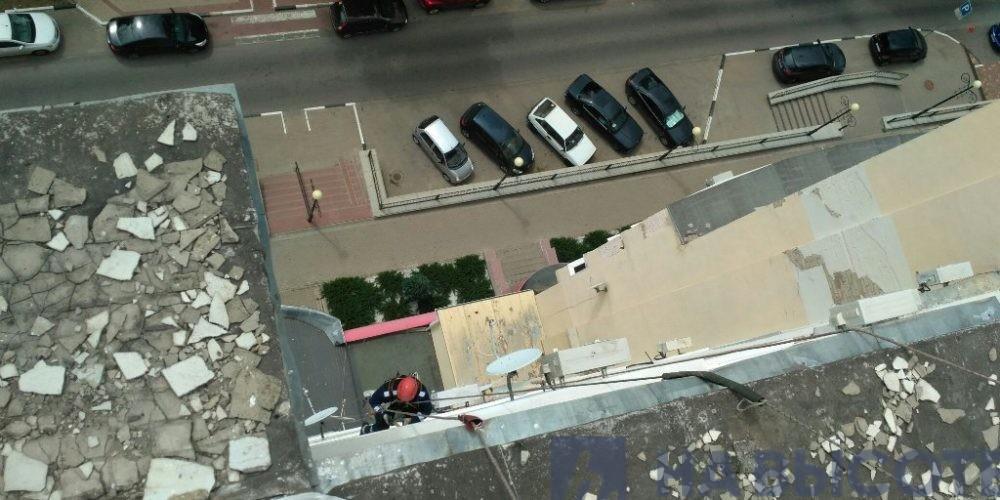 герметизация отлива балкона