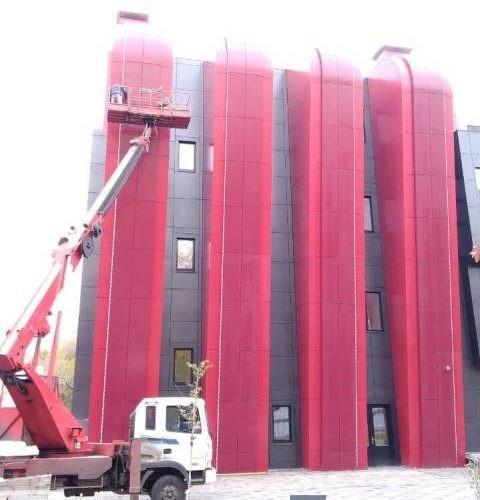 полировка фасада