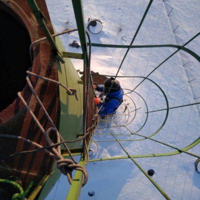 ремонт башни рожновского