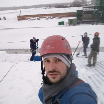 Чистка снега и снятие наледи с крыш Белгород