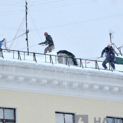 Работа по чистке снега в Белгороде кипит!