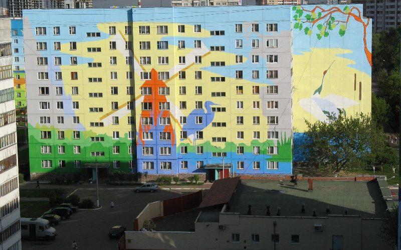 Покраска фасада Белгород