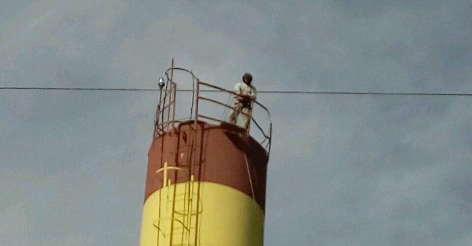 Покраска башен Белгород