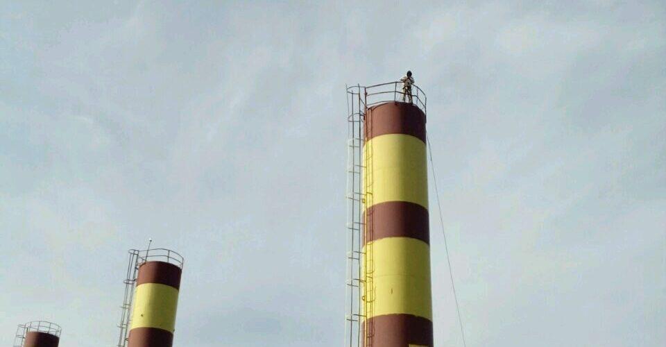 Красим водонапорную башню Белгород