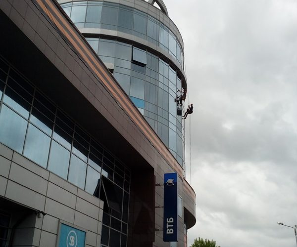 Мойка фасада на высоте Белгородская область