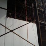 Обшивка фасадом