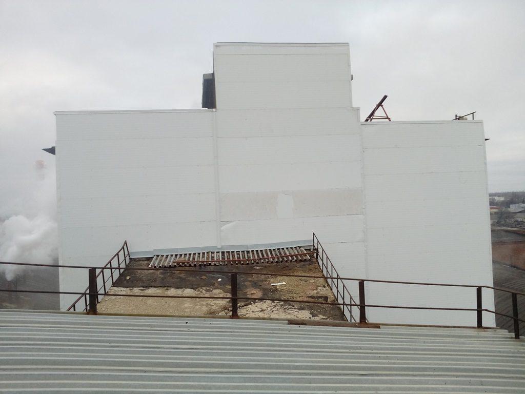 Покраска бетонных панелей