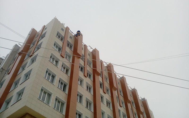 монтаж фасада Белгород