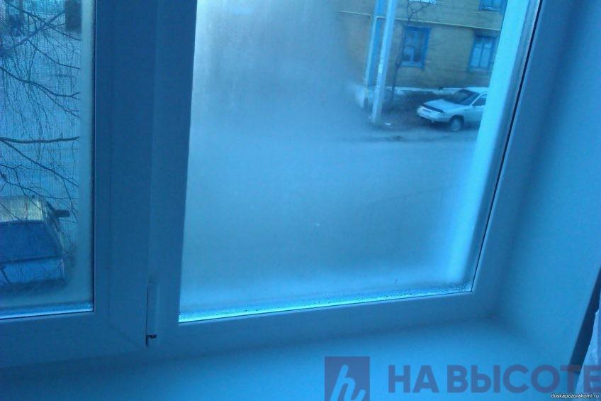 Чем помыть окно чтоб не потело