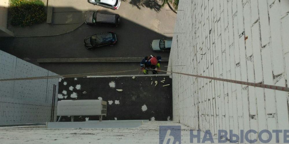 герметизация козырька балкона