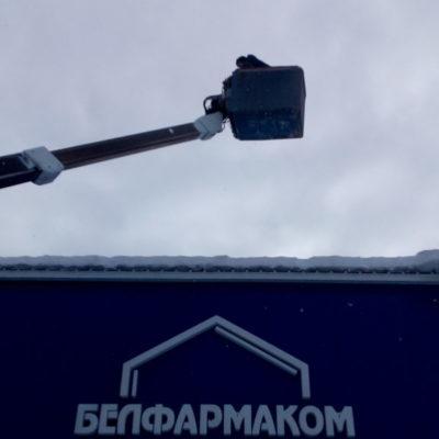 Уборка снега и наледи с крыш с