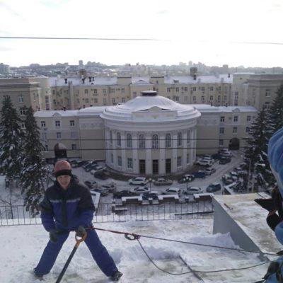 уборка снега с крыш Белгород