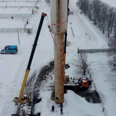 Установили водонапорную башню в Белгородской области