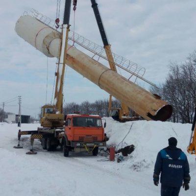 Ставим водонапорную башню в Белгородской области