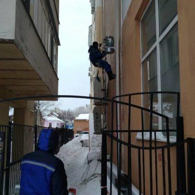 Крепление воздуховодов на высоте Белгород