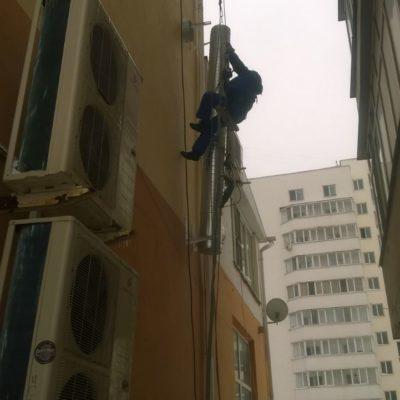 Работа монтаж воздуховодов Белгород