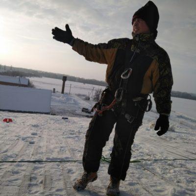 Чистка снега в Белгороде