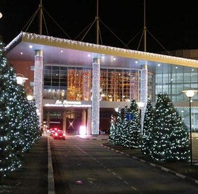 Подсветка зданий Белгородская область