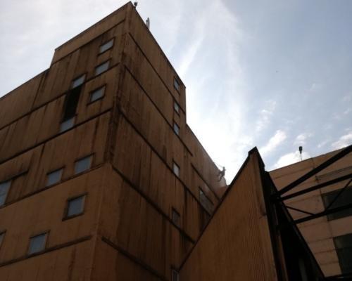 мойка здания альпинистами