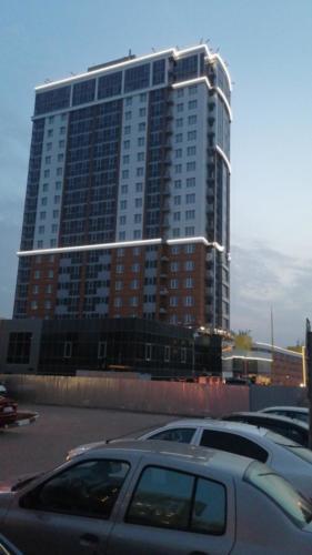 Монтаж подсветки здания Белгород