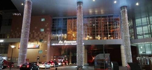 Подсветка зданий Белгород