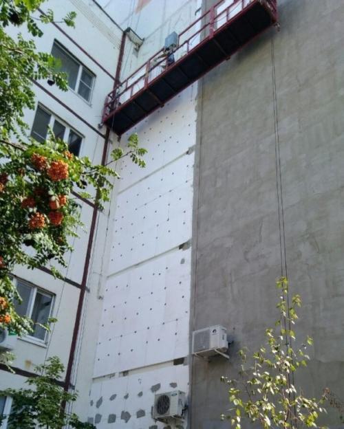 утепление стен